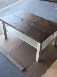 Hackin' the Lack into a rustic coffee table - IKEA Hackers ...