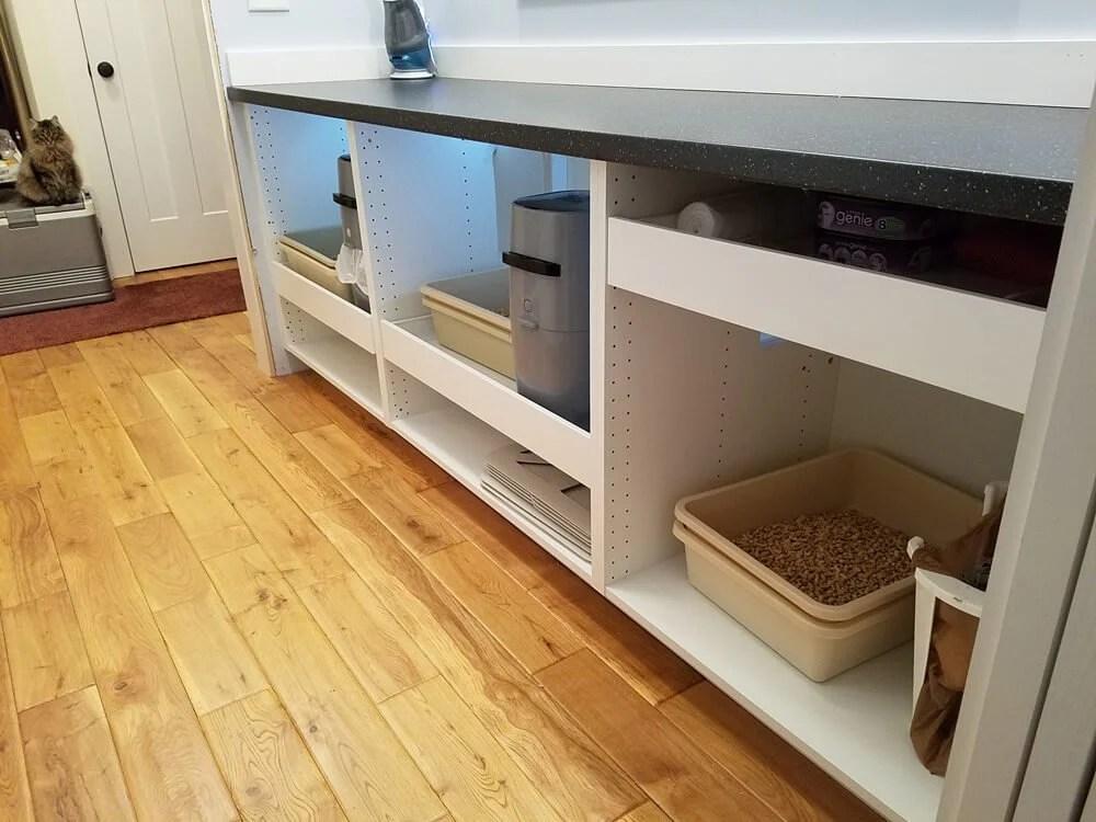 IKEA Hack Hidden Cat Litter Box Enclosure
