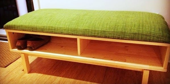 Ikea Hack Shoe Storage Bench