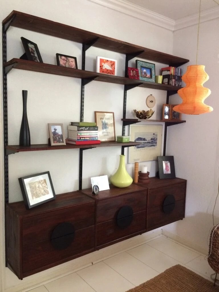 Mid-Century Modern Furniture Shelving from IKEA Rast