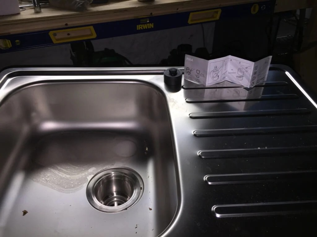Outdoor sink IKEA hack