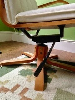 Swivel POÄNG Chair Frame Swivel POÄNG Chair Base