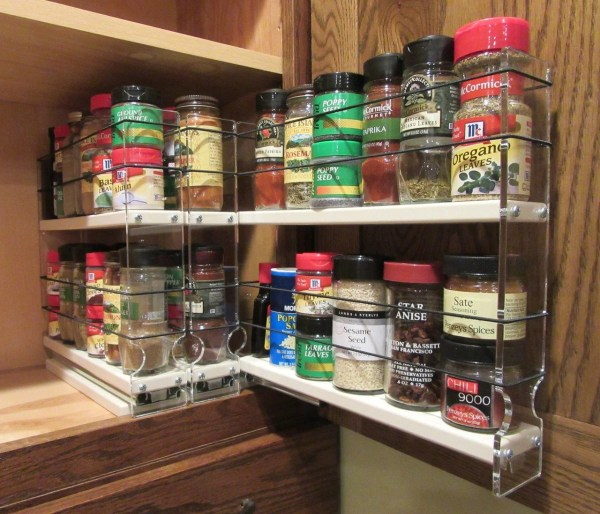 Hackers Suggestions Pull- Spice Rack - Ikea