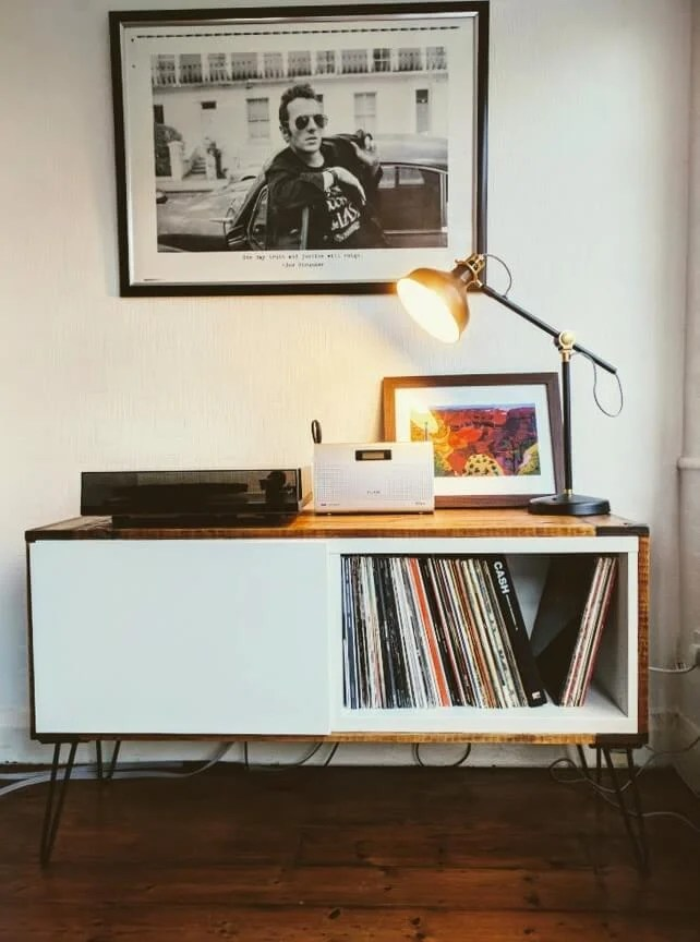 Record Player Stand From Ikea Best 197 And Pallet Wood Ikea