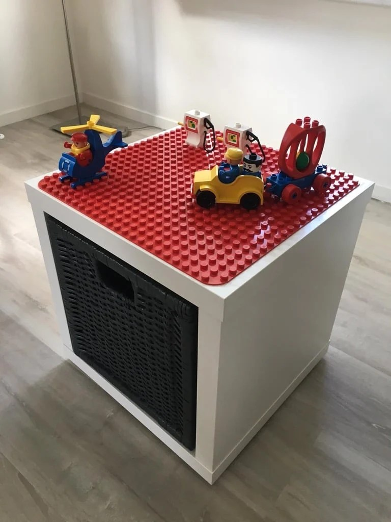 LEGO Duplo play and store box - IKEA Hackers