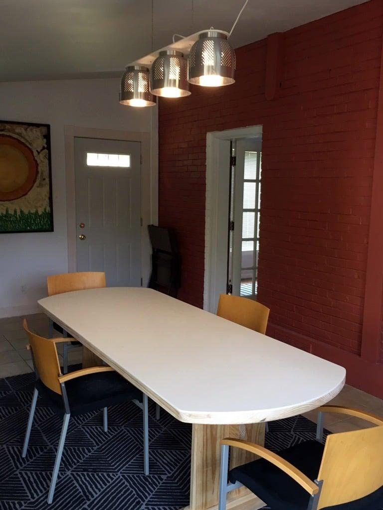 Good A Colander Chandelier a modern dining table light