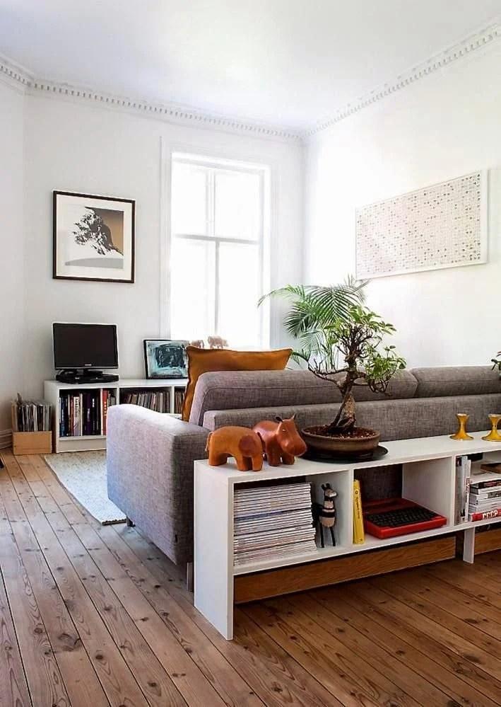 Sofa Room Divider Bookcase