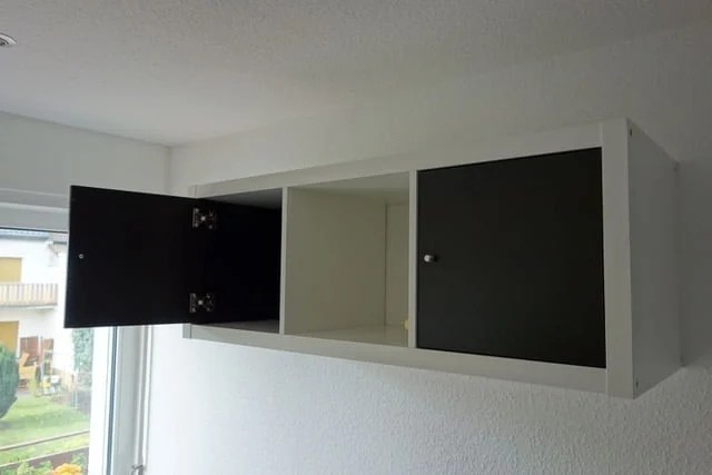 kitchenette with ikea kallax ikea hackers. Black Bedroom Furniture Sets. Home Design Ideas