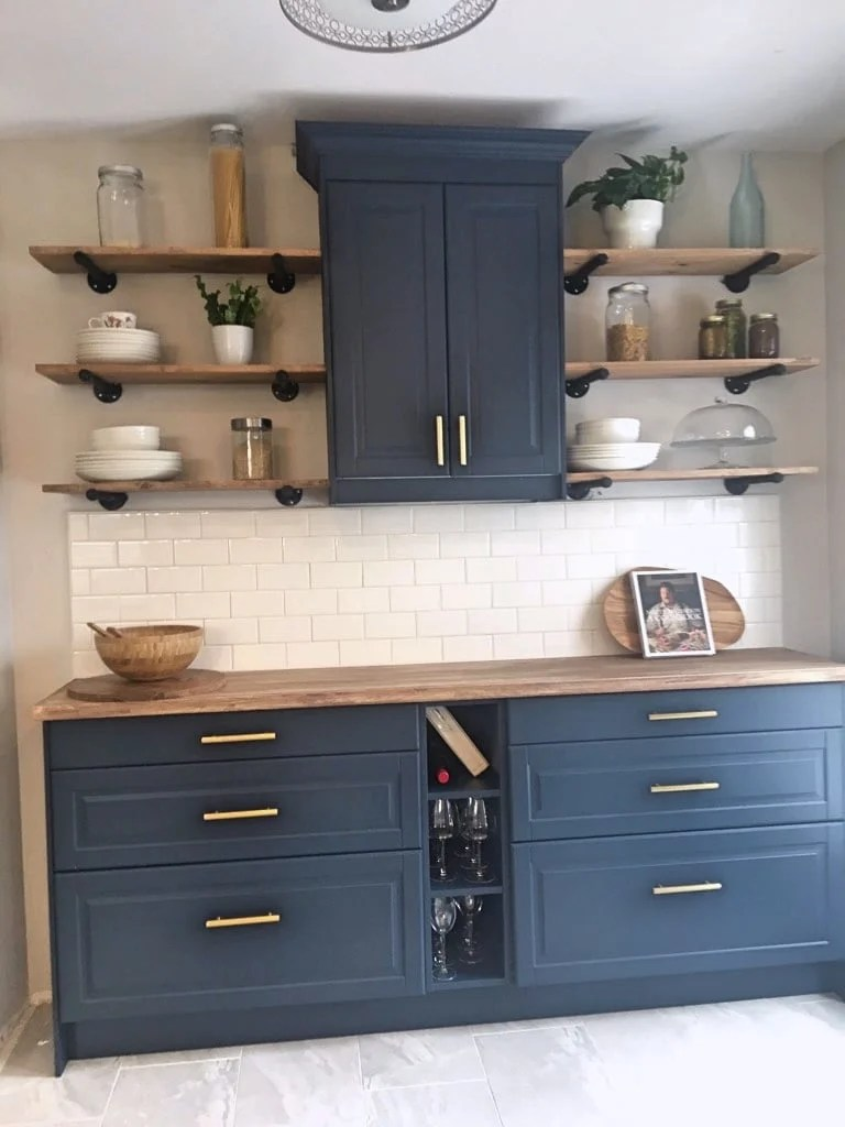 How We Painted Kitchen Cabinets For Our New Kitchen Nook Ikea Hackers