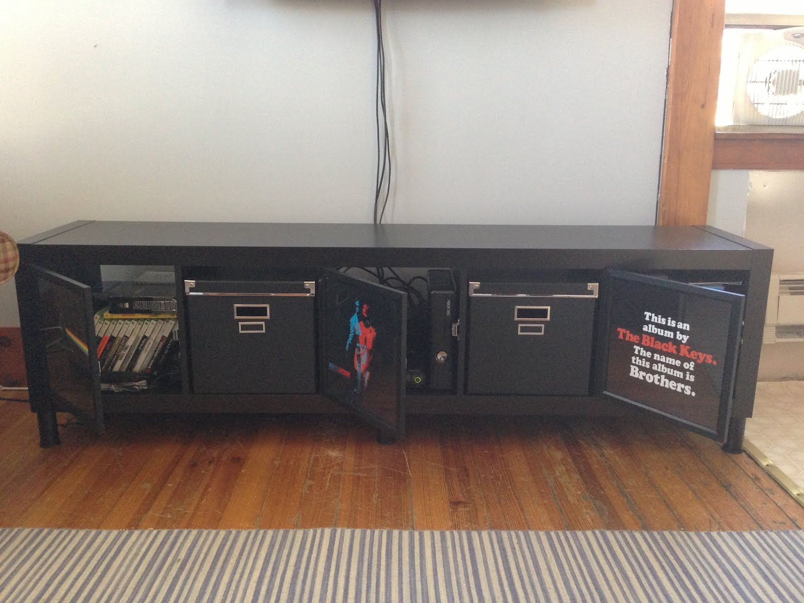expedit tv stand for the music man ikea hackers. Black Bedroom Furniture Sets. Home Design Ideas