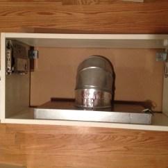 Kitchen Exhaust Vent 27 Inch Sink Horizontal Hood Wine Rack Bookshelf Mash Up Ikea Hackers