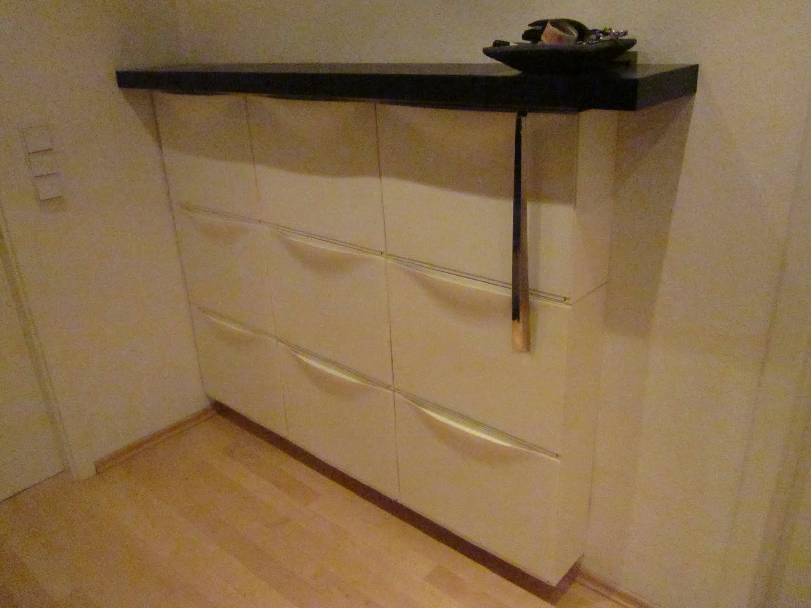 Exceptionnel Materials: 3 Sets Of Trones Shoe Boxes, 2 Lack 30cm Shelves, 1 Lack 110cm  Shelf, About 2,5m Wooden Latches