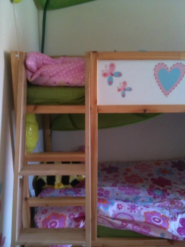 Fairy Princess Treehouse Kura Bunk Beds With Stuva