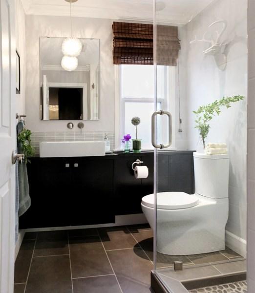 ikea bathroom vanity ideas Bathroom vanity hack: Optical illusion with secret storage