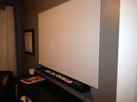 NOT Expensive Glass Whiteboard