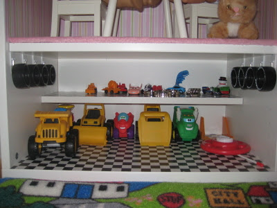 Besta American Girl Sized Doll House Toy Car Garage Ikea