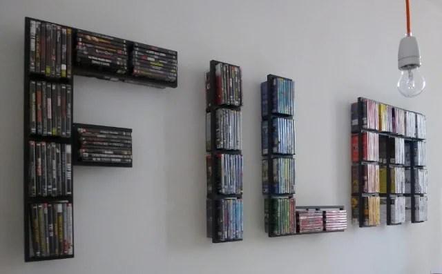 Lerberg wall shelves and decor