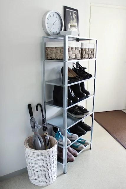 Ikea Hyllis Shoe Storage