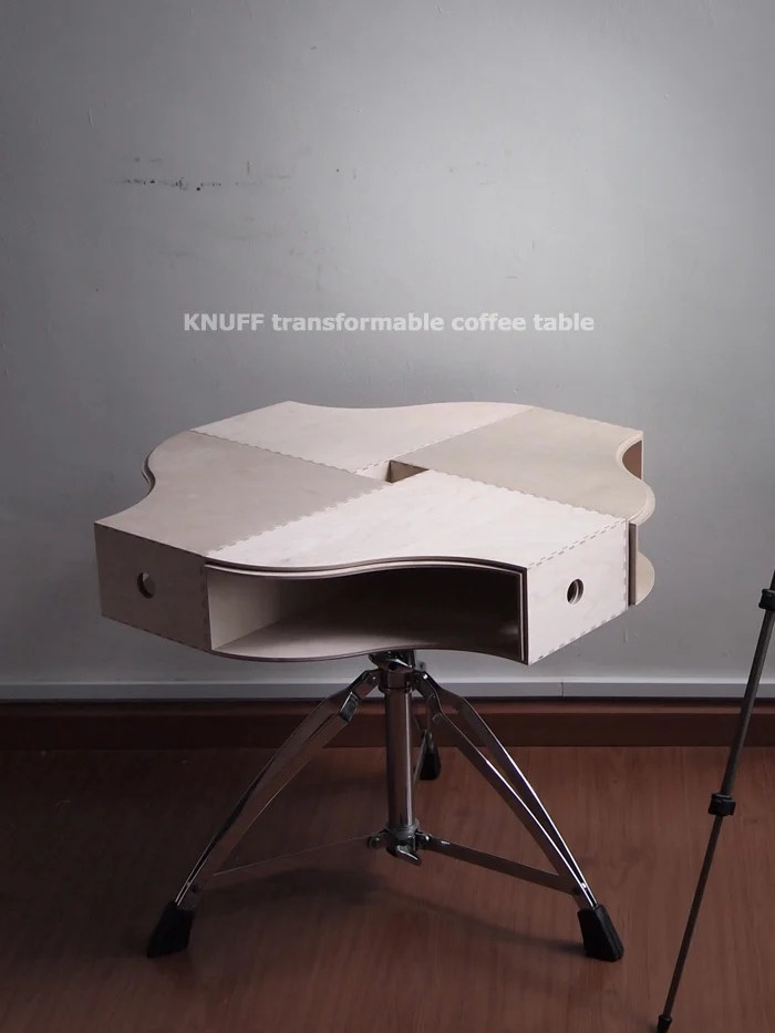 knuff transformable coffee table - ikea hackers