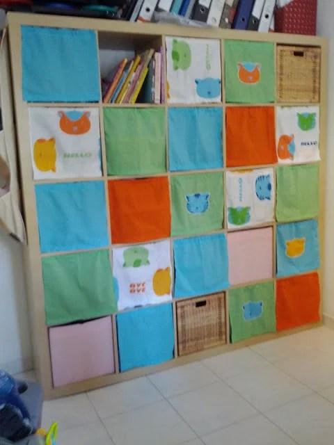 expedit turns to nursery storage ikea hackers. Black Bedroom Furniture Sets. Home Design Ideas