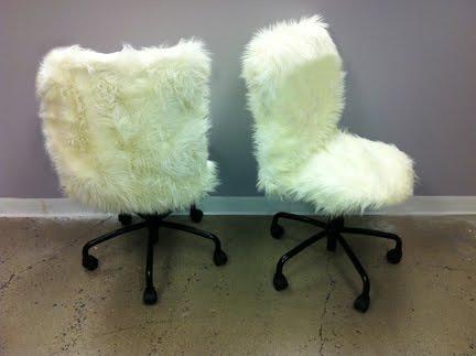 Fur Desk Chairs Ikea Hackers
