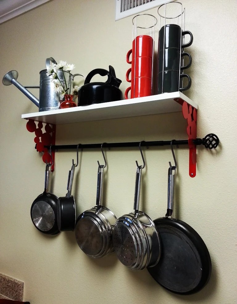 Ikea Pot Rack Hack Ikea Hackers