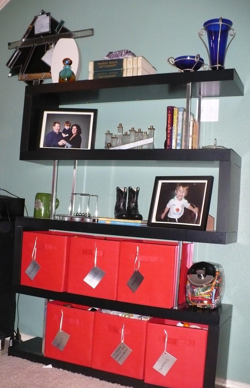 Zig zag lack shelf bookcase ikea hackers for Miroir zig zag ikea