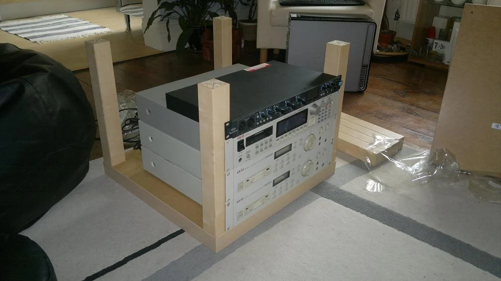 Lack Rack Amp Expedit Desktop Ikea Hackers