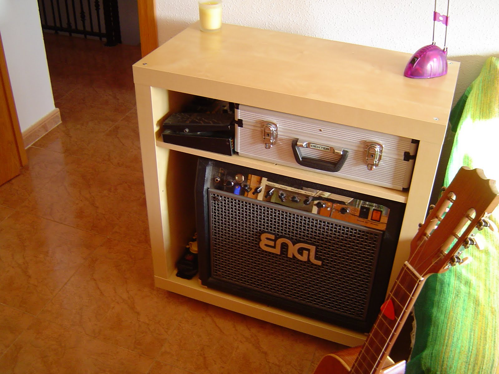 Expedit turned into a guitar amp enclosure ikea hackers - Mobile stereo ikea ...