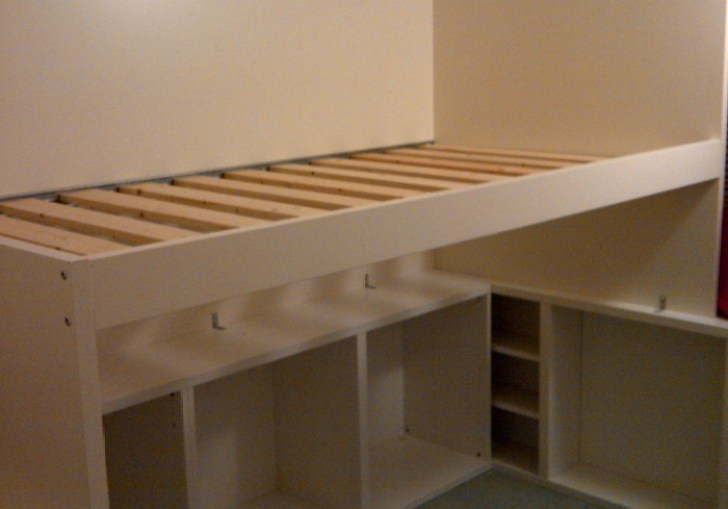 Low Loft Bed Full