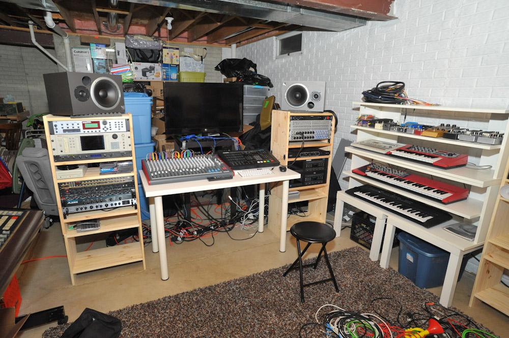 Basement Music Studio Ikea Hackers