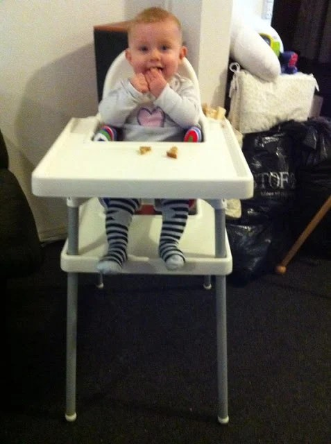 Diy foot rest on ikea antilop high chair ikea hackers for High baby chair ikea