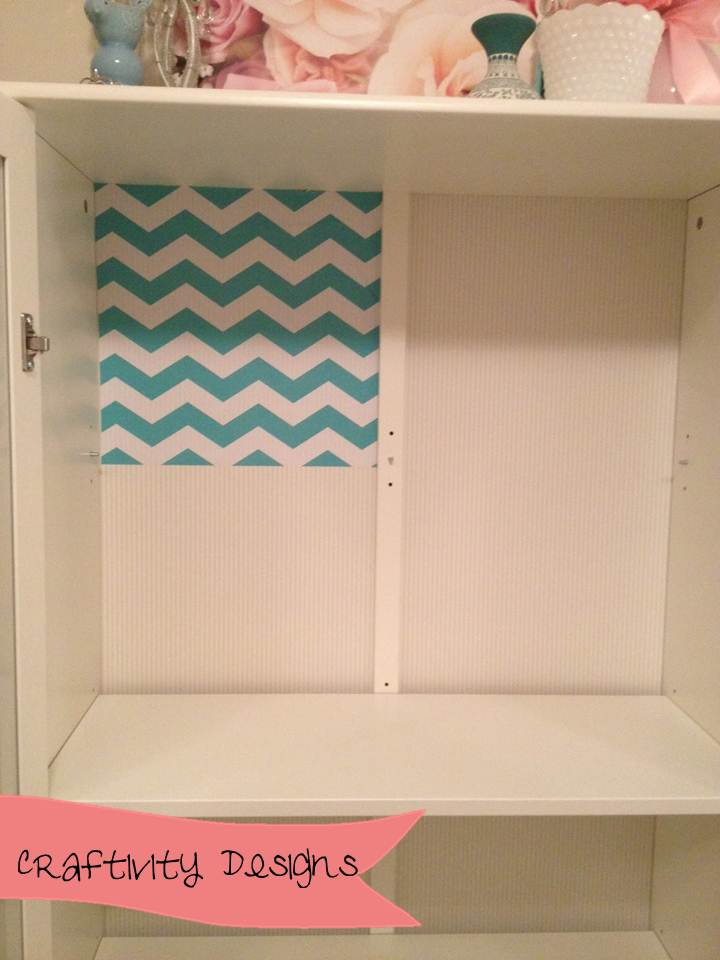 Easy ikea cabinet makeover with shelf paper ikea hackers for Best shelf paper for kitchen cabinets