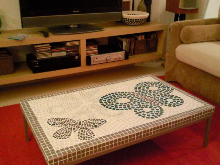 Mosaic Coffee Table Ikea Hackers