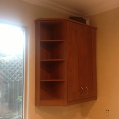 Shelves For Kitchen Cabinets Outdoor Sale Custom End Unit Ikea Hackers