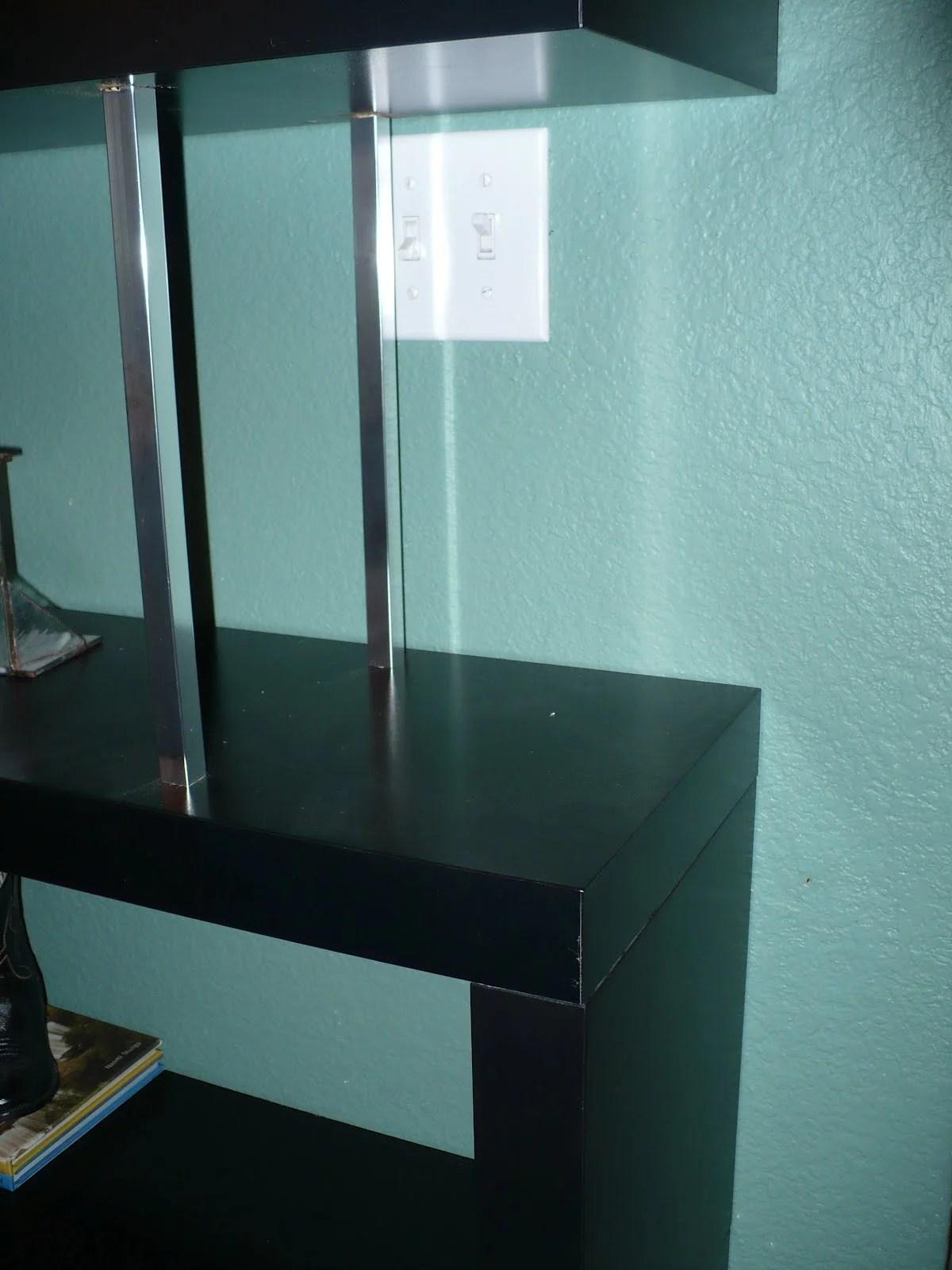 Zig zag lack shelf bookcase ikea hackers for Ikea lack mensola