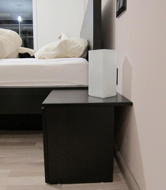 the billy olsbo effektiv nightstand hack ikea hackers. Black Bedroom Furniture Sets. Home Design Ideas