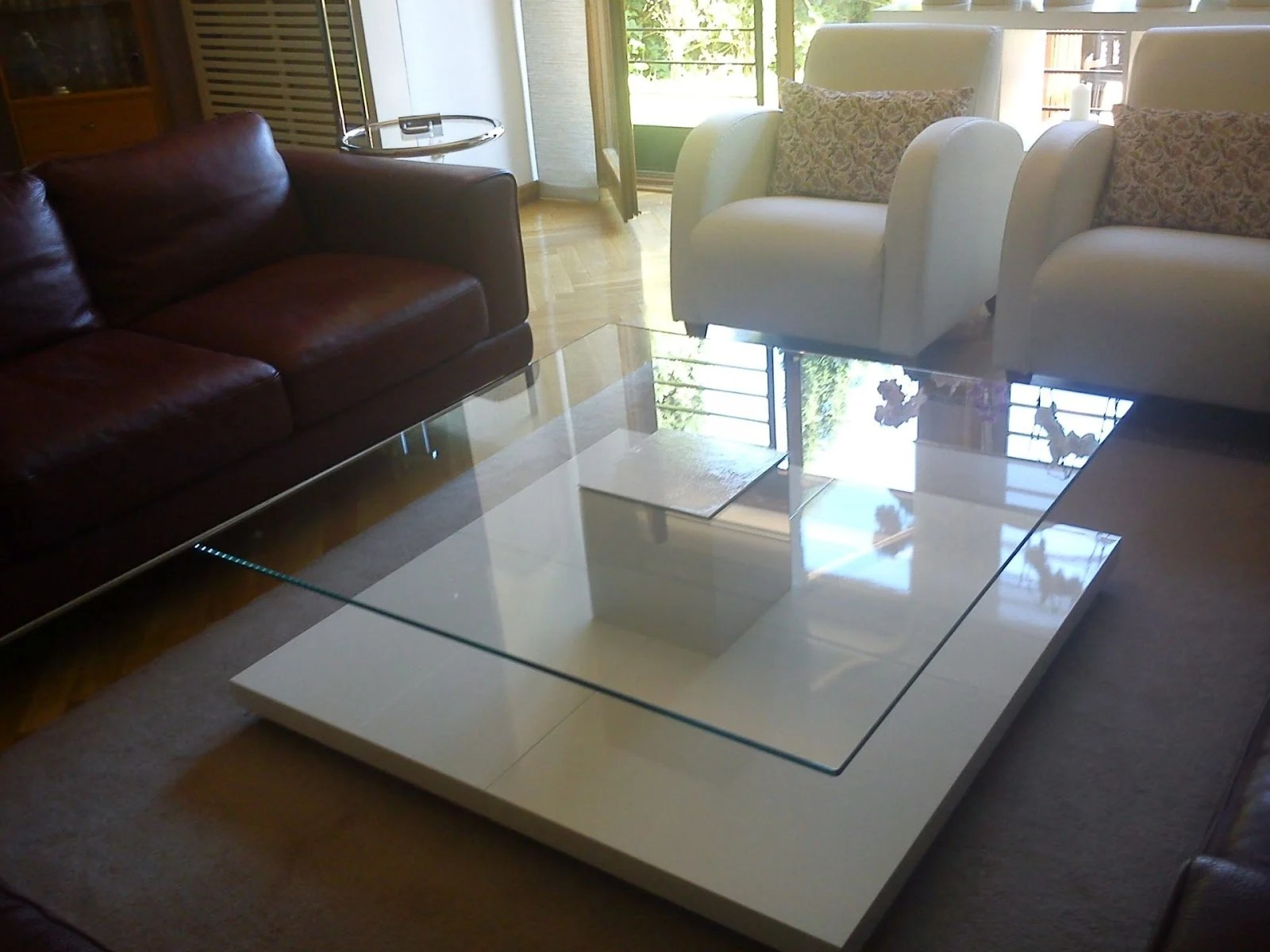 Four Lack table base coffee table - IKEA Hackers