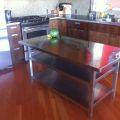 Ikea hyttan table top 1 large 2 small 4 vika moliden legs