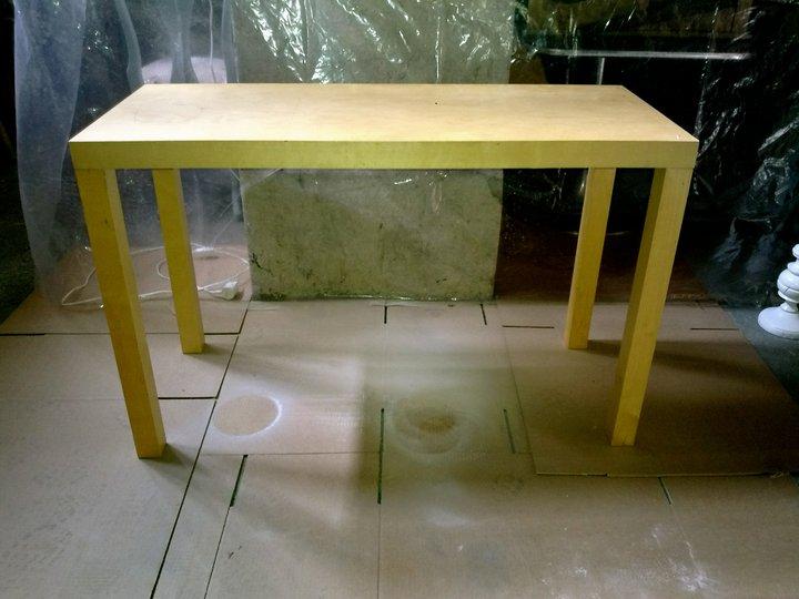 ikea lack console table ikea hackers. Black Bedroom Furniture Sets. Home Design Ideas