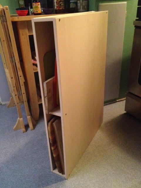 galant chopping board storage unit ikea hackers. Black Bedroom Furniture Sets. Home Design Ideas