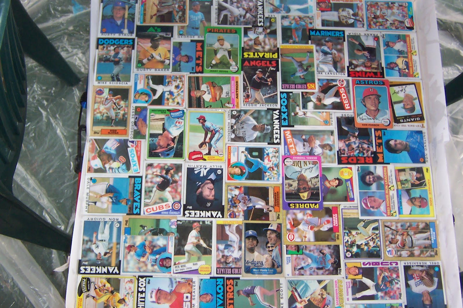 Baseball Card Table Ikea Hackers