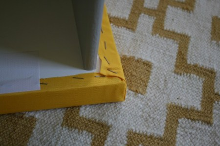 upholstered Malm drawers