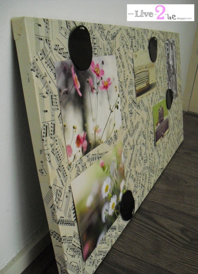 vintage spontan memo board ikea hackers. Black Bedroom Furniture Sets. Home Design Ideas