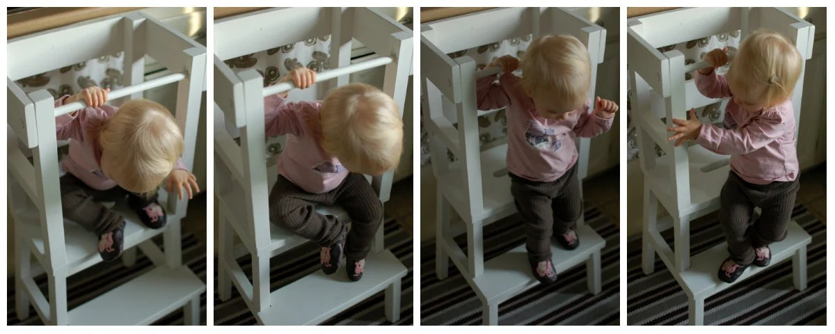 Lucys Learning Tower IKEA Step Stool Hack  IKEA Hackers