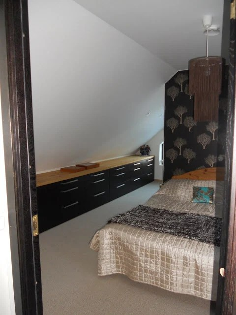 Bedroom wall cabinets