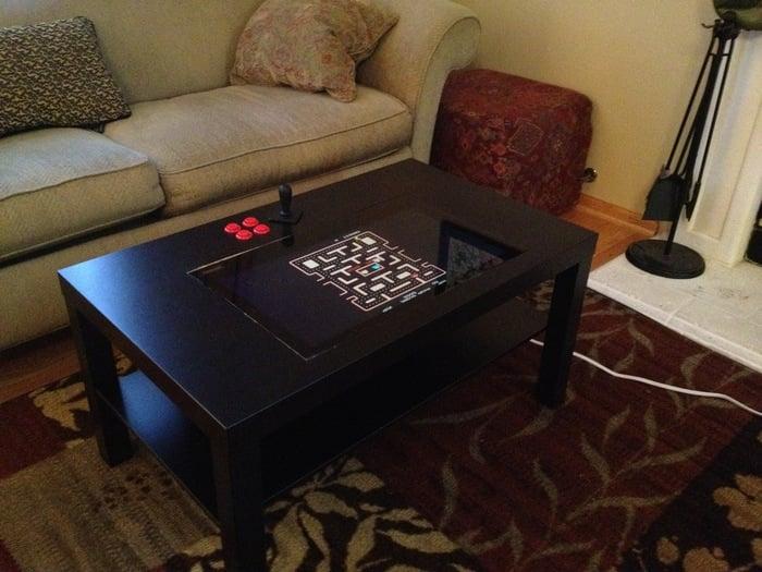 Lack Arcade Coffee Table IKEA Hackers