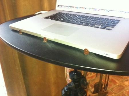 Dave tripod laptop table