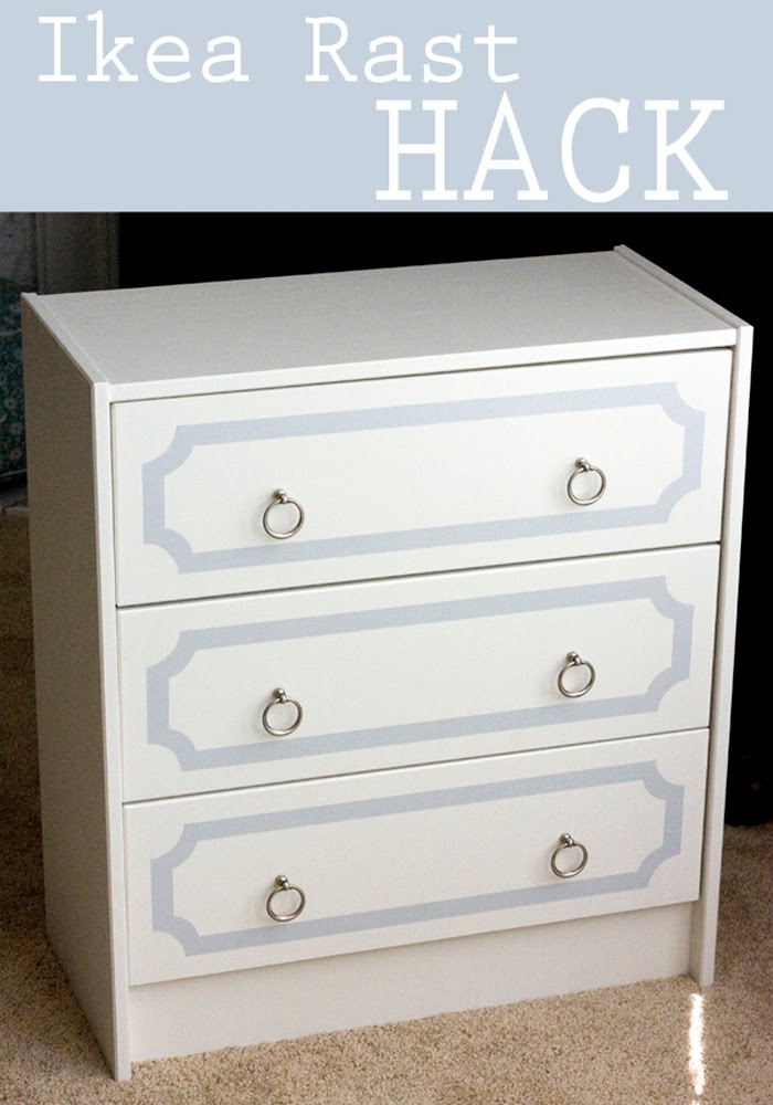 Ikea Rast Dresser With Silver Ring Pulls Ikea Hackers