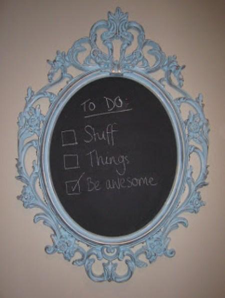 Ung Drill chalkboard